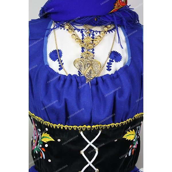 VEST WITH RICH VIANA EMBROIDERY FOR LAVRADEIRA COSTUME