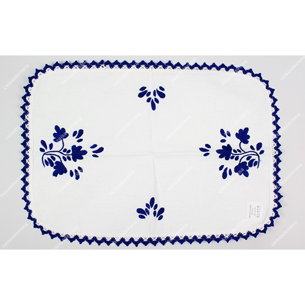 INDIVIDUAL EMBROIDERY VIANA'S CROCKERY AND WITH LA...