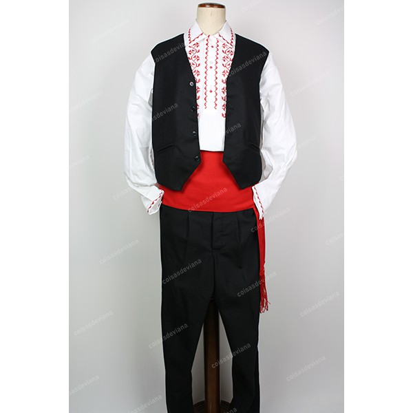 PARTY COSTUME WITH VEST FOR MAN